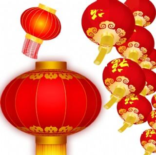红灯笼 素材 新年