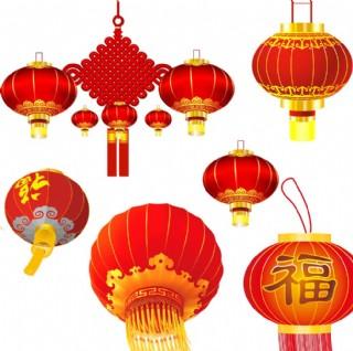 红灯笼 中国结