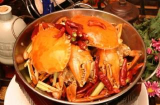 干鍋香辣蟹圖片