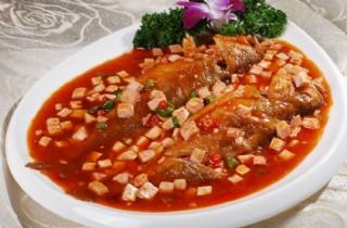 小黄鱼炒豆腐图片