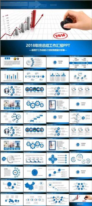销售业绩总结报告PPT模板