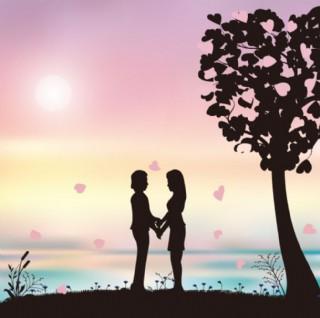 情人节 矢量图 场景 浪漫