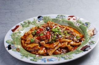 海鲜脆皮豆腐图片